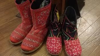 モン族ブーツ