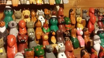 バリ島木彫りアニマル