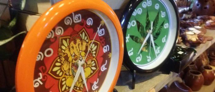 アジアン時計