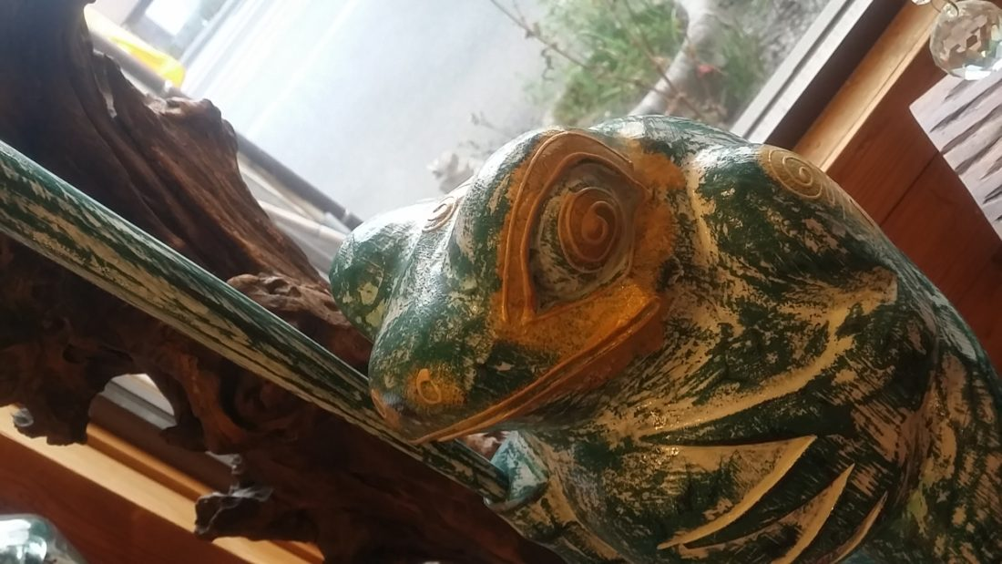 バリ島木彫り