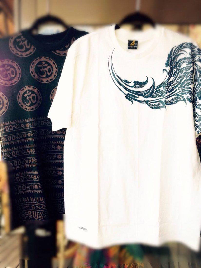 iラインタイTシャツ