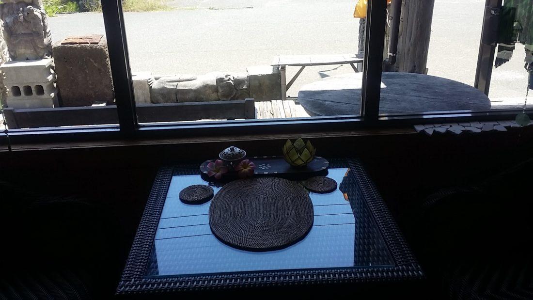 シンセティックラタン家具カフェ