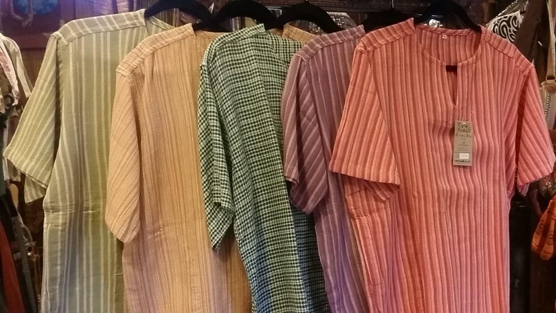 コットンクルタシャツ