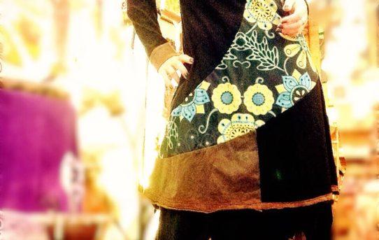 久しぶりにファッションコーデ♪ ネパールワンピース