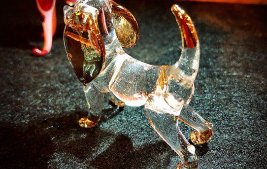 タイのハンドメイドガラス細工の干支の動物達