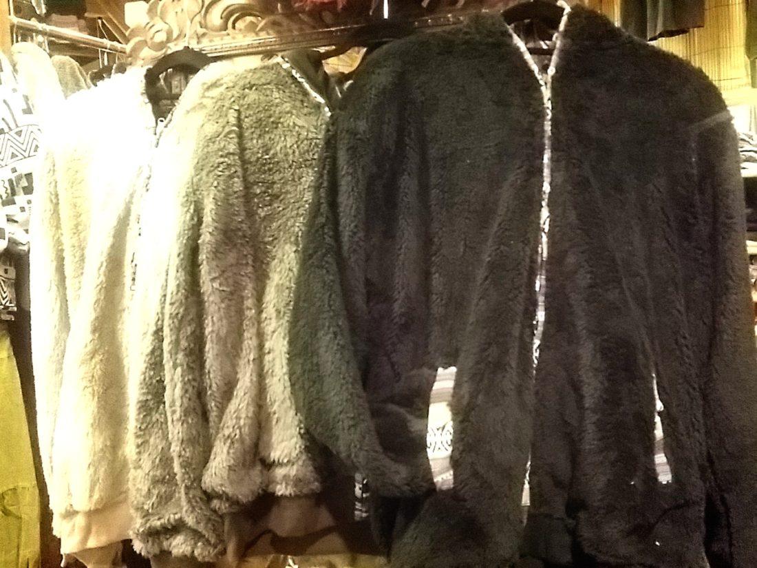 ネパール暖かモコモコジャケット