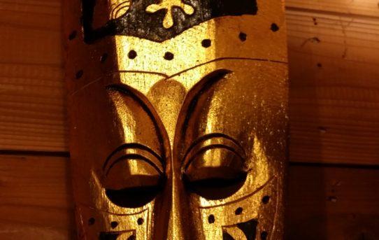 新入荷バリ島のゴールデンマスクやゴールデンレリーフ