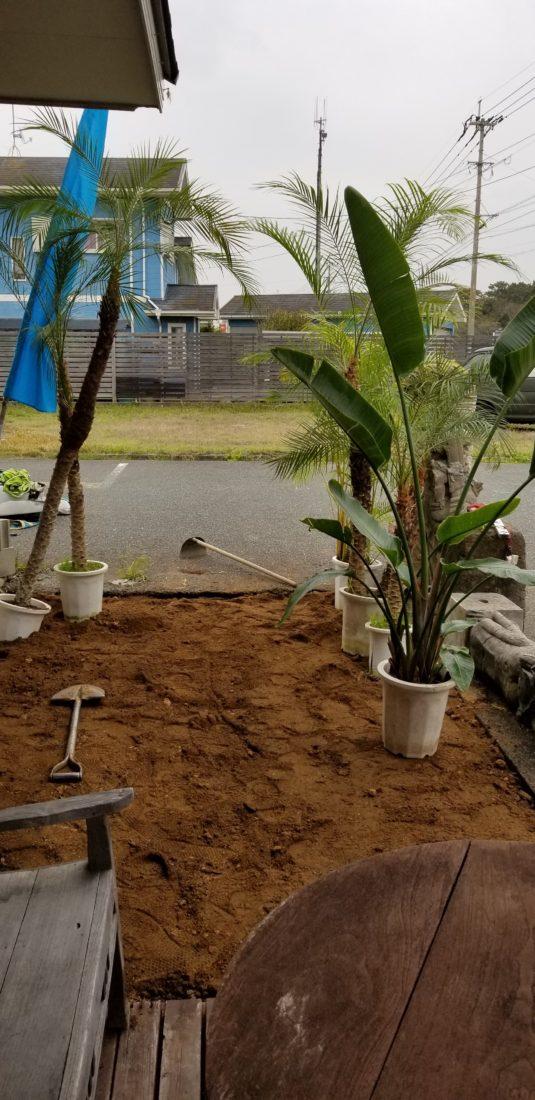 バリ風ガーデン