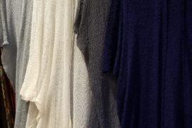 レーヨンメッシュの羽織