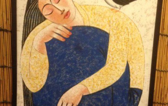 バグースのオススメインテリアシリーズ♪04 「バリ絵画」