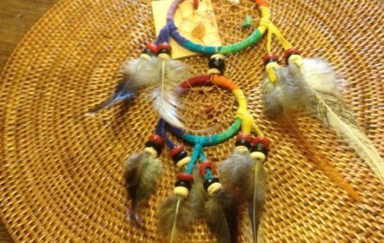 プランギ(インドネシア語で虹の意味)カラーのお守り♪