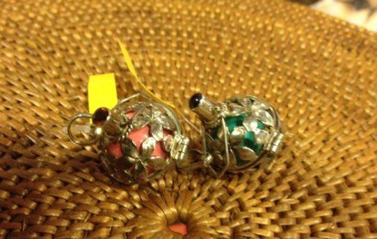 バリ島の銀細工アクセサリー「ガムランボール」が人気です♪