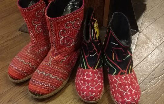 秋のアジアンファッション!ブーツ&靴 編