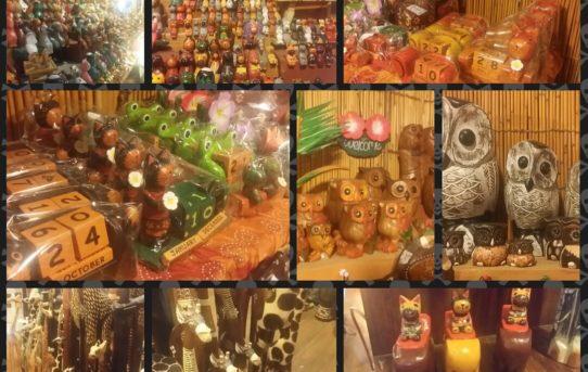 バリ島木彫りの動物シリーズ
