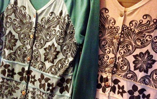 羽織物シリーズ コットンTシャツ生地の羽織物