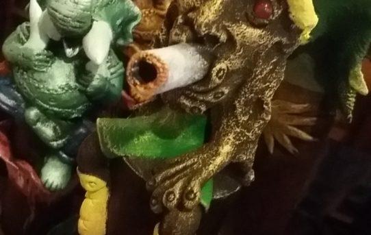秋の夜長に癒しのお香!ラスタマンや、ドラゴンのお香立て!