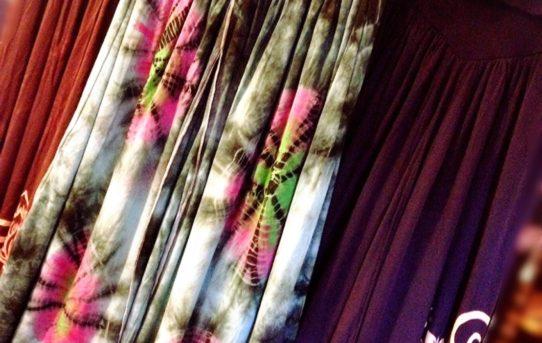 レーヨンスパンディックの秋用ワイドパンツに合わせてコーデ