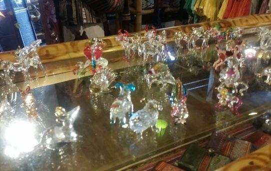 タイのガラス細工 干支の動物シリーズ入荷