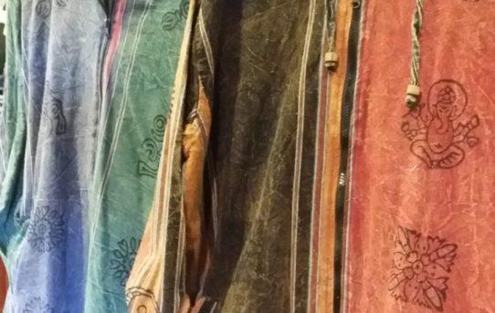 ネパールコットンのストーンウオッシュ加工のジャケット&パンツ入荷