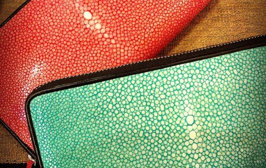 春の縁起物~春財布 第二弾革のお財布!エイ(ガルーシャ)やパイソン財布