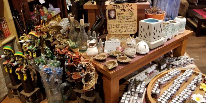 福岡のアジアン雑貨店アロマグッズ