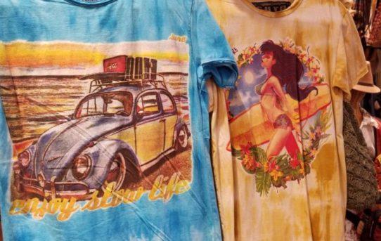 テーマは【サマー】夏!海!ってイメージのTシャツ。ちょっとアメリカン?