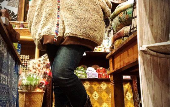 冬のエスニックファッションコーデ!もこもこアウター編