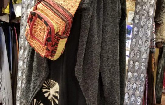 レディース秋のエスニックファッションコーデ
