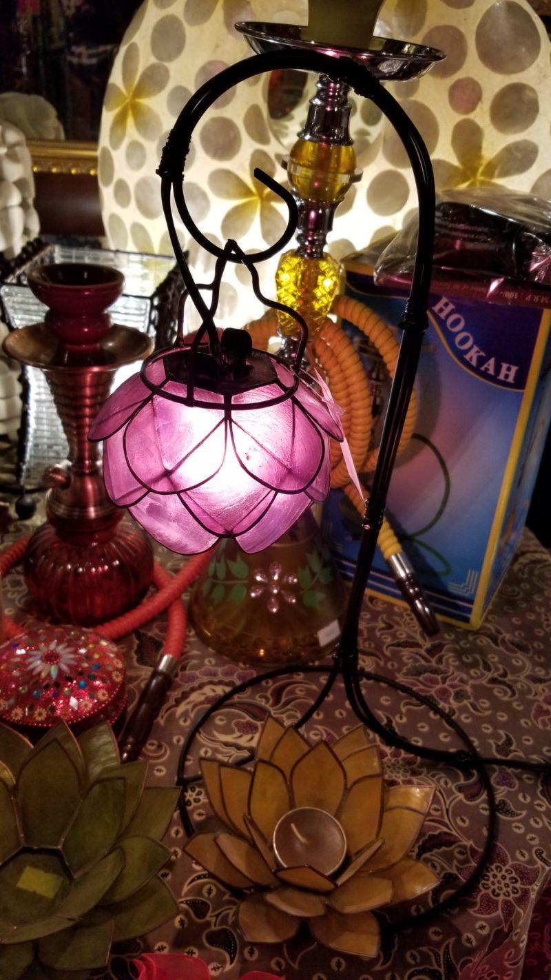 カピス貝ランプ