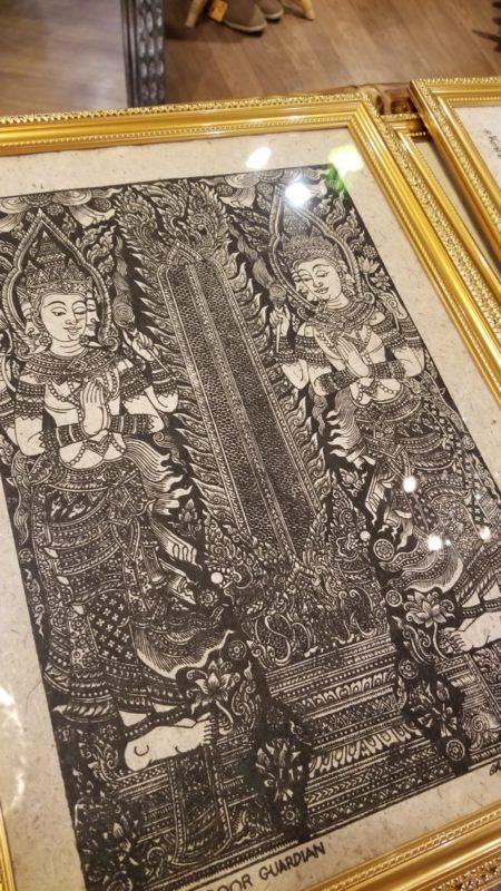 タイの幸運版画