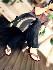 エスニックファッションコーデ