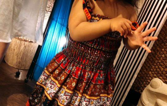 エスニックな子供服ファッションコーデ