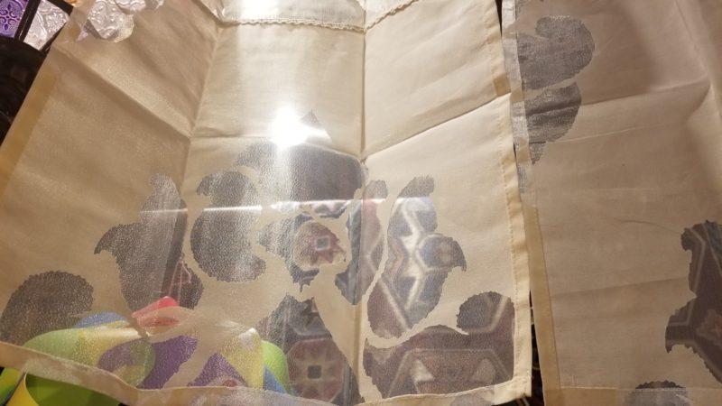 インド透かし暖簾