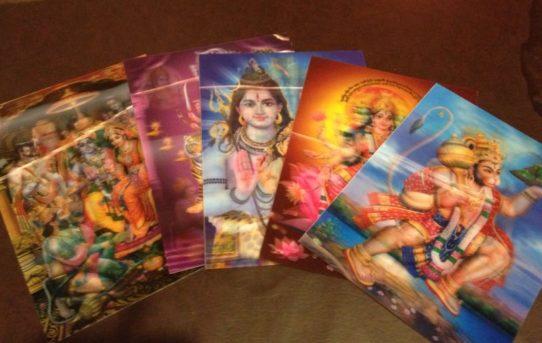 ガネーシャ様やシヴァ神などなど♪神々などを描いた宗教画の数々♪♪